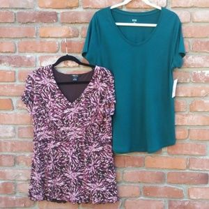 Tops - 2 Tops One NWT